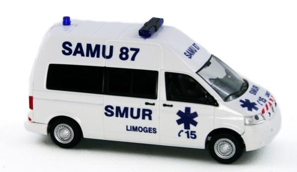 Rietze 51904 - Volkswagen T5 Samu 87 Limoges (FR) - 1:87