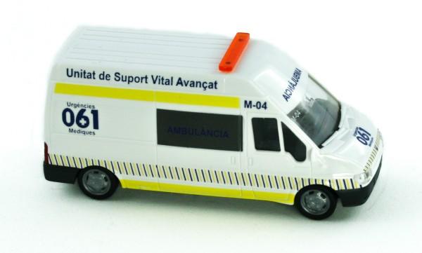 Rietze 51063 - Ford Transit 2000 Ambulancia (ES) - 1:87
