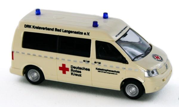 Rietze 51909 - Volkswagen T5 MD DRK KV Bad Langensalza e.V. - 1:87