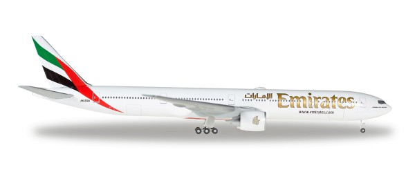 Herpa Wings 518277-004 - Emirates Boeing 777-300ER - A6-EQA - 1:500