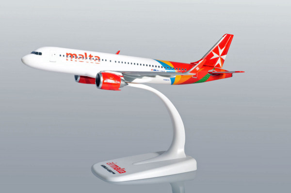 Herpa Wings 612418 - Air Malta Airbus A320neo - 9H-NEO - 1:200 - Snap-Fit