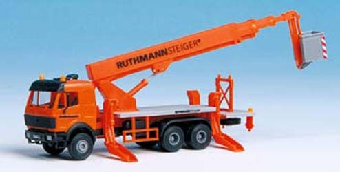 Kibri 15008 - MB Kommunal mit Ruthmann Steiger Aufbau - H0