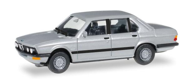 Herpa 038652 - BMW 528 i (E28), silbermetallic - 1:87