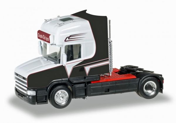 """Herpa 306522 - Scania Hauber Zugmaschine """"Grohganz"""" - 1:87"""
