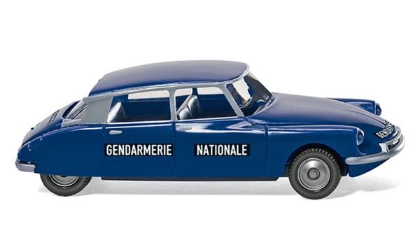 Wiking 086433 - Gendarmerie - Citroën ID 19 - 1:87