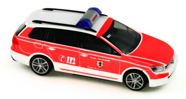 Rietze 53317 - Volkswagen Golf 7 Variant Feuerwehr Wolfratshausen - 1:87