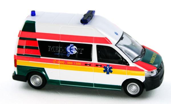 Rietze 53624 - Volkswagen T5 GP Medicent Rettung Rotenburg - 1:87