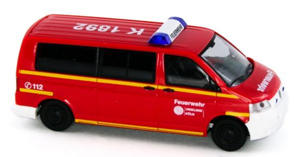 Rietze 51913 - Volkswagen T5, Feuerwehr Uniklinik Köln - 1:87