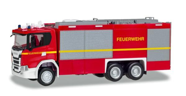 """Herpa 094375 - Scania CG 17 Empl ULF """"Feuerwehr"""" (geänderter Aufbau) - 1:87"""
