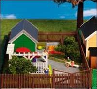 Kibri 38658 (8658) - Gartenhaus zur Laubenkolonie - Bausatz - H0