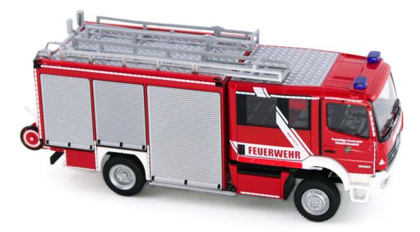 Rietze 72913 - Schlingmann Varus HLF Feuerwehr Niebüll Deezbüll - 1:87