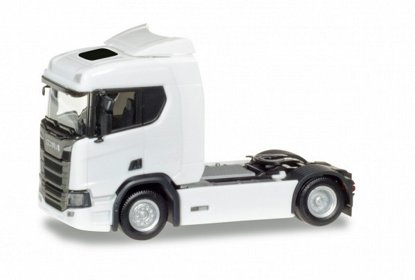 Herpa 307642 - Scania CR 20 ND Zugmaschine, weiß - 1:87