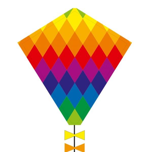 Invento-HQ Eddy Rainbow Patchwork 50 cm - Einleiner (45 x 50 cm) - R2F