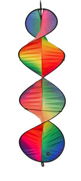 Invento-HQ Windspiel Helix Gradient Rainbow (25 x 80 cm)