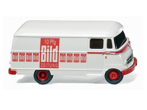 """Wiking 026501 - Lieferwagen (MB L 319) """"BILD"""" - 1:87"""