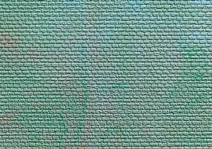 Kibri 36910 (6910) - Mauerplatte regelmäßig m. Abdecksteinen - Fläche: 150 cm² - N / Z