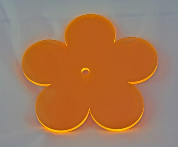 Lichtzauber Sonnenfänger - Blume klein, Ø 12 cm, orange (Elliot 1019082)