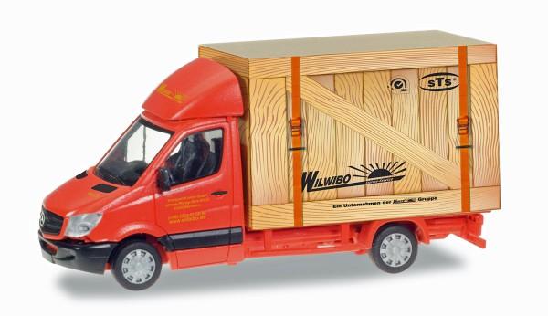 """Herpa 093286 - Mercedes-Benz Sprinter Koffer """"Spedition Wirtz"""" - 1:87"""