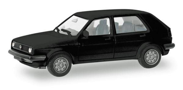 Herpa 012195-007 - Herpa MiniKit: VW Golf II 4-türig, schwarz - 1:87