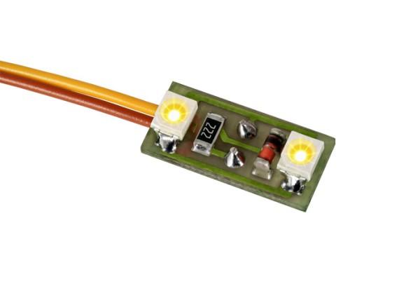 Viessmann 6017 - Hausbeleuchtung mit LEDs gelb - H0