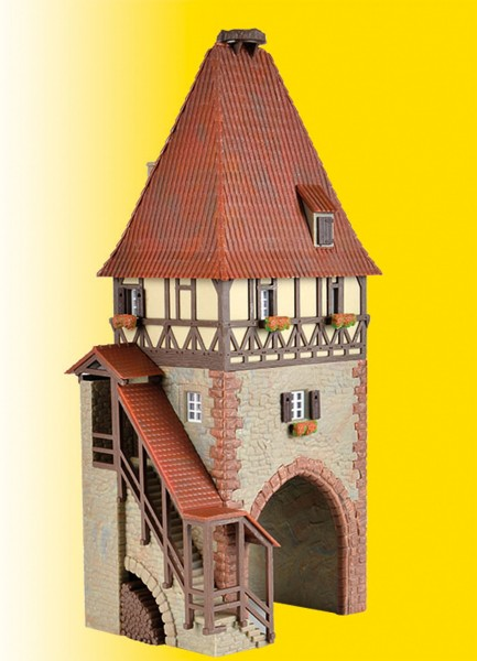 Kibri 38470 - Fachwerkturm mit Tor - H0