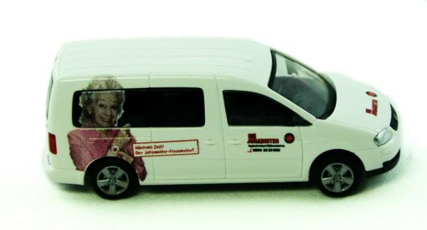 Rietze 51557 - VW Caddy Maxi Die Johanniter RV Südbrandenburg - 1:87