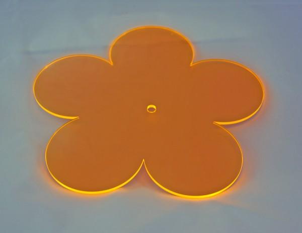 Lichtzauber Sonnenfänger - Blume groß, Ø 20 cm, orange (Elliot 1019072)