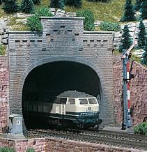Vollmer 42503 - Tunnelportal 2gleisig mit Aufsatz- H0 (2503)