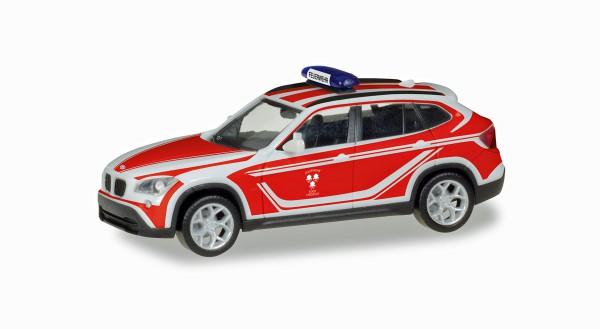 """Herpa 093552 - BMW X1 Kommandowagen """"Feuerwehr Landshut"""" - 1:87"""