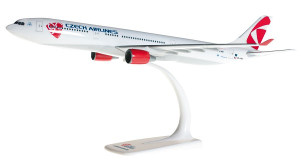 Herpa Wings 609845-001 - CSA Czech Airlines Airbus A330-300 - OK-YBA - 1:200 - Snap-Fit
