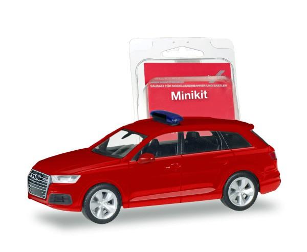 Herpa 013536 - Herpa MiniKit: Audi Q7, rot - 1:87
