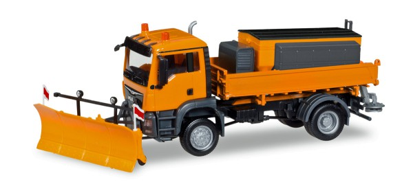 Herpa 308656 - MAN TGS M Euro 6c 4x4 Winterdienst kommunal - 1:87