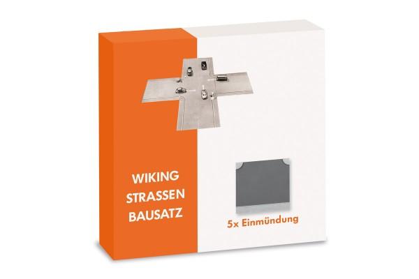 Wiking 119904 - Strassen Bausatz - Einmündung Inhalt: 5 Stück - 1:87