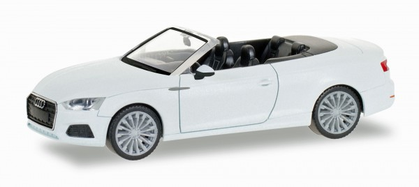Herpa 028769 - Audi A5 Cabrio, ibisweiß - 1:87