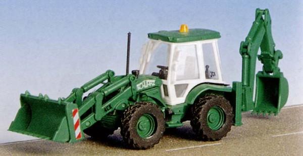 Kibri 15217 - Baggerlader JCB 4Cx 4x4x4 - H0