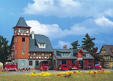 Vollmer 47780 - Feuerwehrmagazin - N (7780)