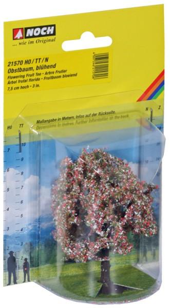 NOCH 21570 - Profi Obstbaum, blühend, 7,5 cm hoch - H0 / TT / N