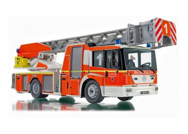 Wiking 043102 - Feuerwehr - Drehleiter L32 Metz (MB Econic) - 1:43