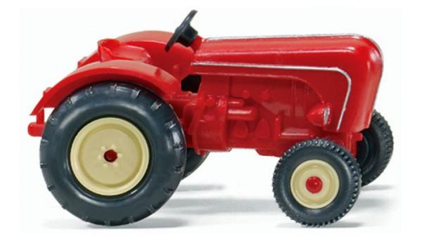 Wiking 0878 04 - Porsche Schlepper - rot - 1954-1963 - H0