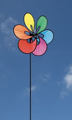 Invento-HQ Windspiel Paradise Flower Rainbow (35 x 82 cm)