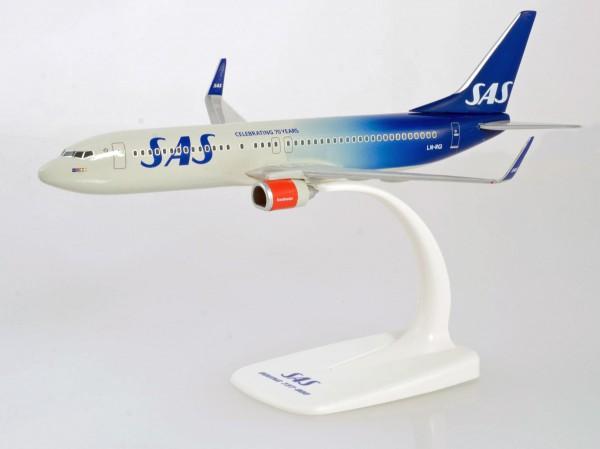 """Herpa Wings 611787 - SAS Boeing 737-800 """"70 Years"""" - 1:200 - Snap-Fit"""
