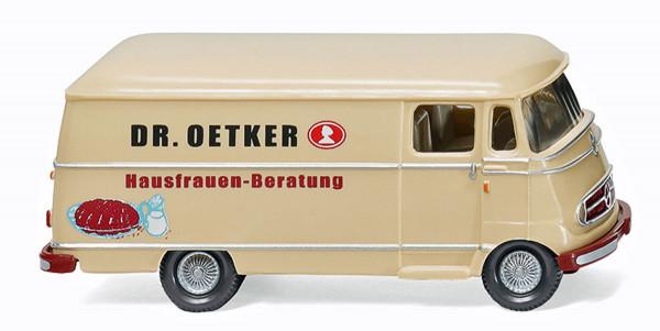 "Wiking 026504 - Kastenwagen (MB L 319) ""Dr. Oetker"" - 1:87"