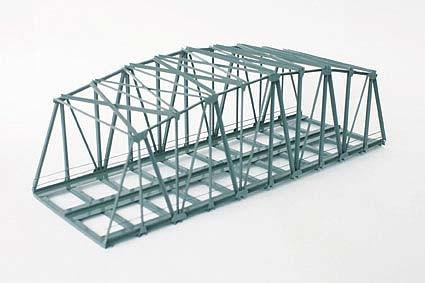 Vollmer 2565 - Bogenbrücke - zweigleisig - Metall-Fertigmodell - H0