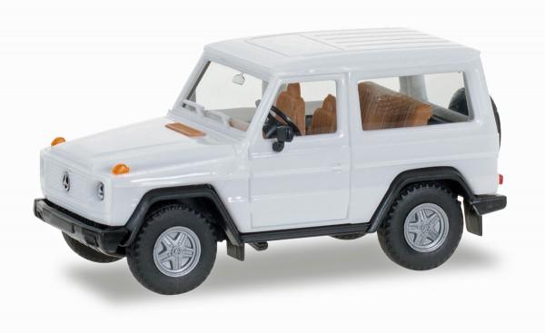 Herpa 012645-007 - Herpa MiniKit: Mercedes-Benz G-Modell, weiß - 1:87