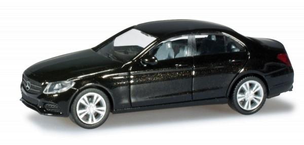 herpa 038324 - Mercedes-Benz C-Klasse Limousine Avantgarde, obsidianschwarz - 1:87