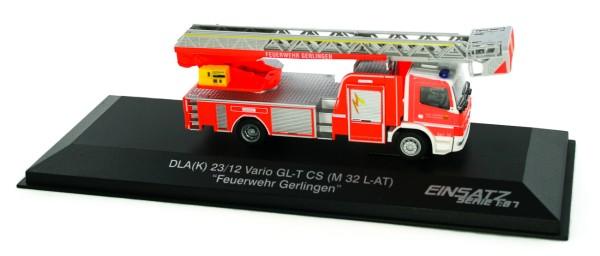 Rietze 71614 - MB Atego DLK L-AS FW Gerlingen - 1:87 - Einsatzserie