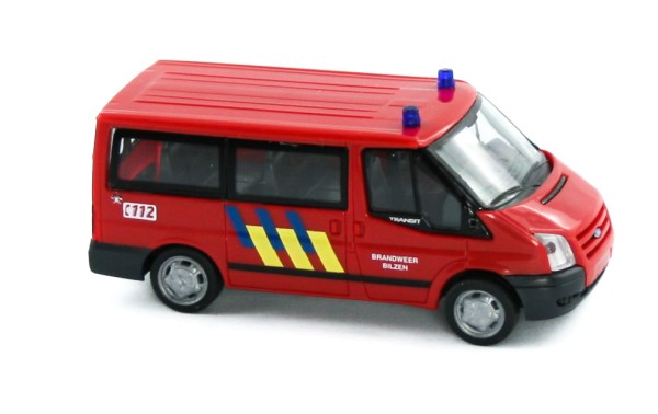 Rietze 52533 - Ford Transit 06 - Brandweer Bilzen (B) - 1:87