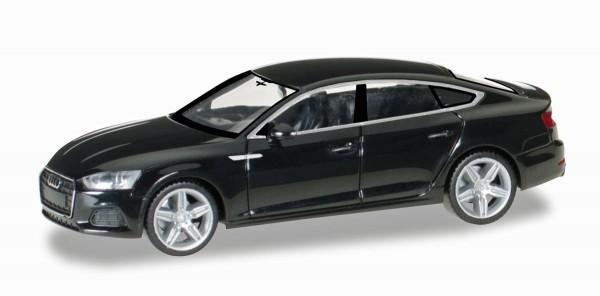 Herpa 028707 - Audi A5 Sportback, brillantschwarz - 1:87