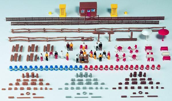 Kibri 37490 - Ausgestaltungs-Set mit Figuren - N