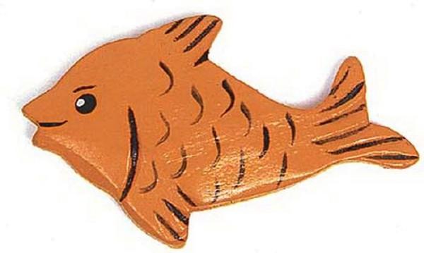 Fische aus Holz - 12 Stück (7196)
